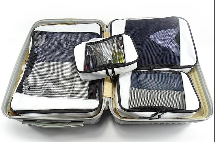 Packing cubes compression for suitcases travel